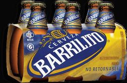 Cerveza Barrilito Oscura Botella 325 mL x 6