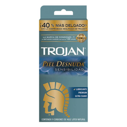 Condones Trojan Piel Desnuda 9 U