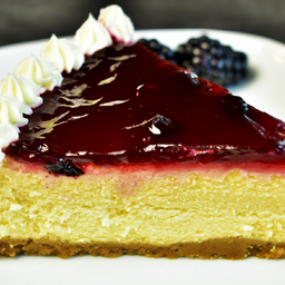 Cheesecake con Blueberry