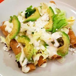 4 Tacos Dorados