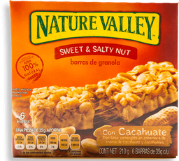 Nature Valley Barra De Granola Con Cacahuate