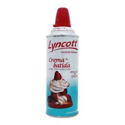 Crema Batida Lyncott Reducida en Grasa 184 g