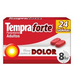 Tempra Forte Adultos 650 Mg 24 Tabletas