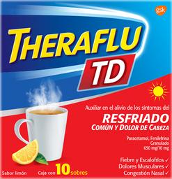 Theraflu Exthegan TD Caja 10 U