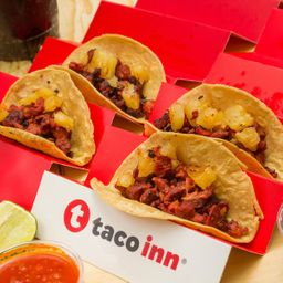 Combo 4 Tacos Pastor