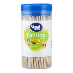 Great Value Palillos De Madera