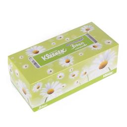 Pañuelo Desechable Kleenex Manzanilla Triple Hoja 100 U