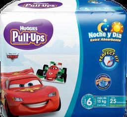 Calzón Desechable Huggies PullUps x 25 pz