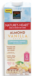 Bebida de Almendras Nature's Heart Vainilla sin Azúcar 946 mL