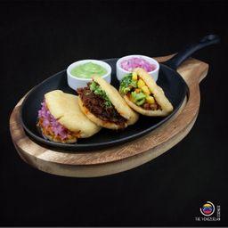 Mexican Arepa Sampler
