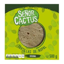 Tortillas Señor Cactus de Nopal  500 g