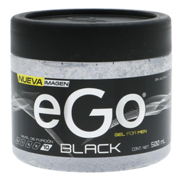 Gel Ego Capilar Black For Men 500 mL