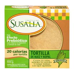 Tortillas De Maíz Susalia Con Nopal 500 g