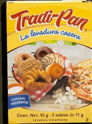 Levadura Tradi-Pan Casera Caja 11 g  x 5