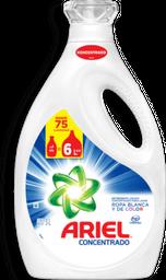 Detergente Ariel Concentrado Blanca y de Color 3 L