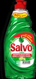 Lavatrastes Salvo Limón 900 mL