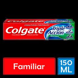 Colgate Pasta Dental Triple Acción Familiar 150 Ml