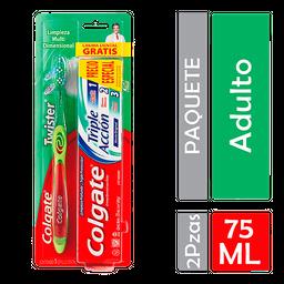 Colgate Cepillo Dental Twister + Pasta Dental Tripleacción 75Ml