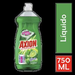 Lavatrastres Líquido Axion Limón 750 Ml