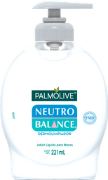 Jabón Neutro Balance Para Manos Líquido Dermolimpiador 221 mL