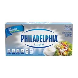 Queso Crema Philadelphia Light 190 g