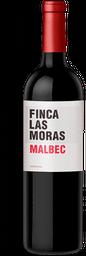 Vino Tinto Las Moras Malbec Botella 750 mL
