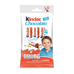Chocolate Kinder Con Leche 12.5 g x 6