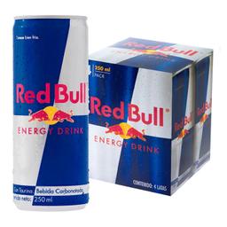 Enegizante Red Bull Regular Lata 250 mL x 4