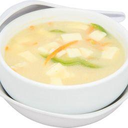 Sopa Misoshiru de Pollo