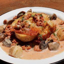 Patata Rellena Vegetariana