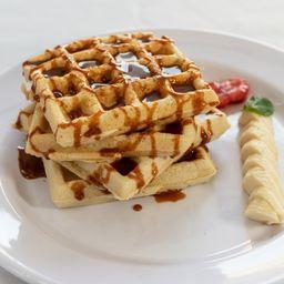 Waffles de Harina de Trigo