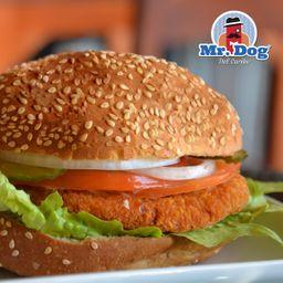 Hamburguesa Mr Fried Chicken