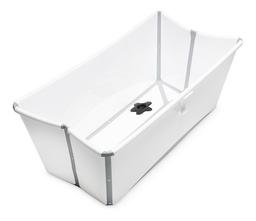 Stokke Bañera Flexi Bath Blanca Con Gris Edad 0-48 Meses