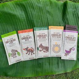 5 Barras de Chocolate 75g