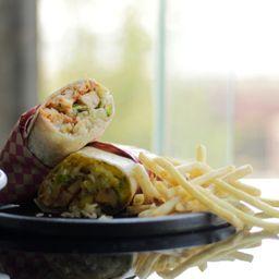 Combo de Burrito con Papas