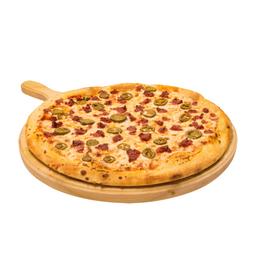 Pizza monstruo mexicana
