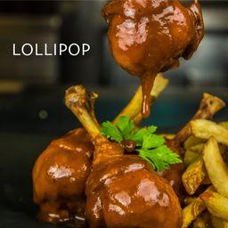 Lollipop 1kg con 300 gr de Papas Fritas