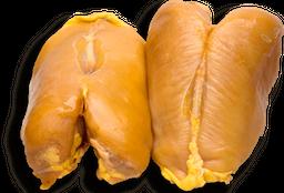 Pechuga de Pollo Con Piel y Hueso