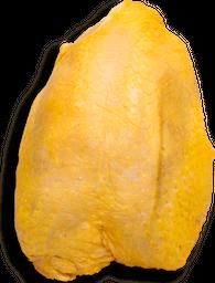 Pechuga de Pollo Con Hueso y Piel