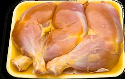 Pierna de Pollo Con Muslo Sin Piel