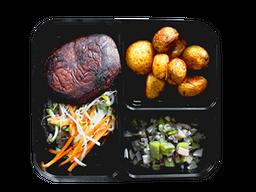 Hamburguesa de Lentejas Vegetariano
