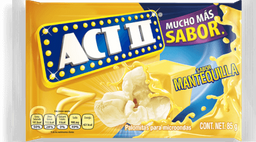 Palomitas Act II Mantequilla Para Microondas 85 g