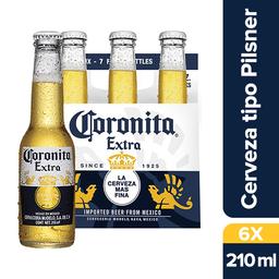 Corona Extra Cerveza Six Pack