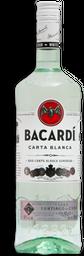 Ron Bacardí Carta Blanca Superior Botella 980 mL