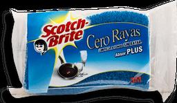 Fibra Esponja Scotch Brite Cero Rayas 1 U
