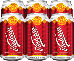 Cerveza Victoria Clásica 355 mL x 6