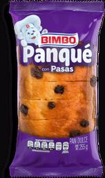 Panqué Bimbo Con Pasas 255 g