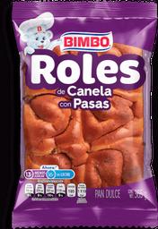 Roles Bimbo de Canela con Pasas 365 g