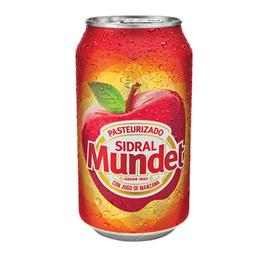 Sidral Mundet lata 355 ml.