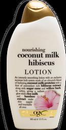 Loción Organix Corporal Nourishing Coconut Milk Hibiscus 385 mL